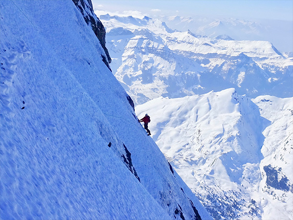 North Face of the Eiger – National Record: Youngest